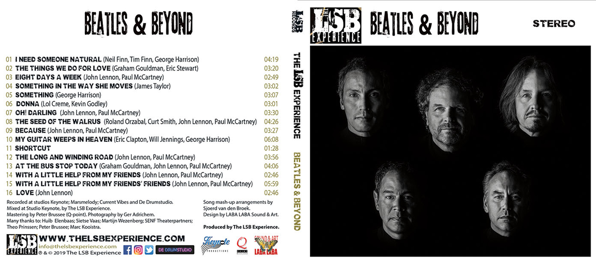Beatles & Beyond Cover Front
