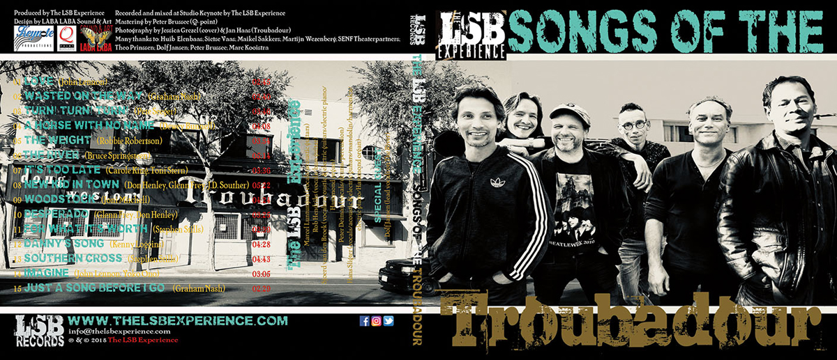 Songs Of The Troubadour Cover Front